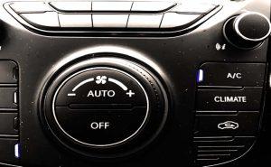 Aircon Switch on Hyundai dashboard