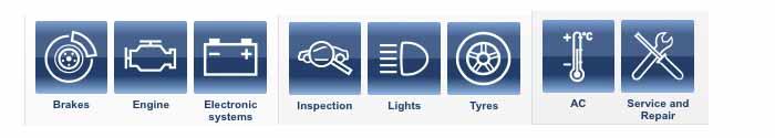 Bosch service centre Service Overview