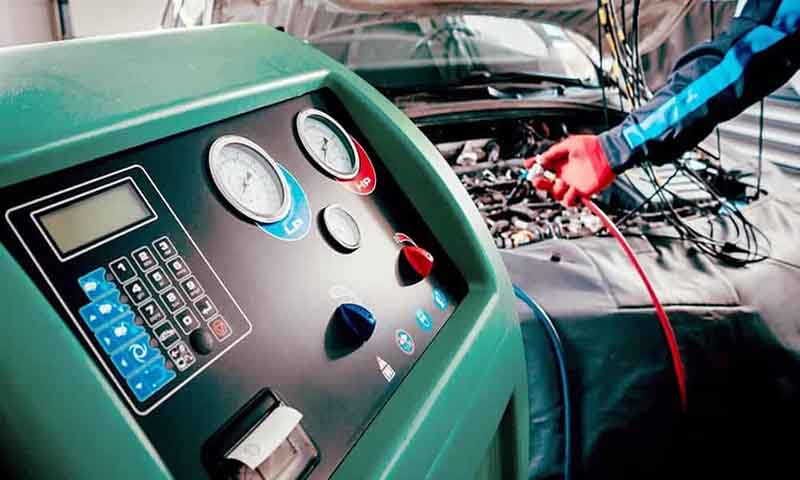 Car AirCon Re-Gas